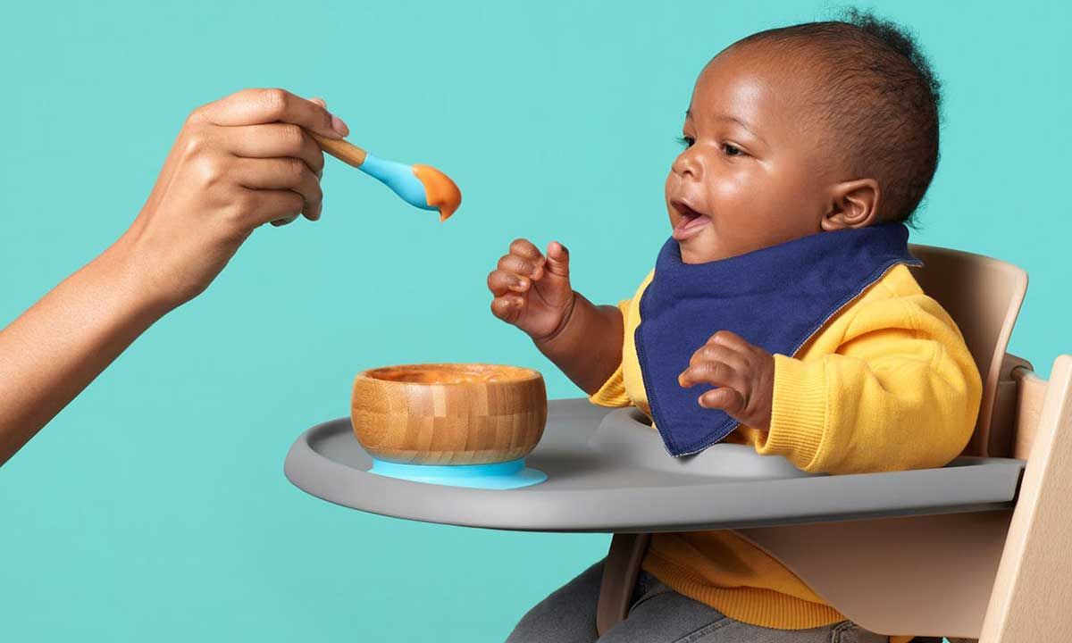 SpoonfulONE Feature Baby Eating